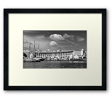 Bristol Harbourside - Canon's Marsh Framed Print