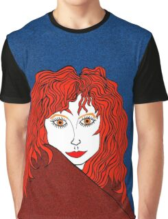 Blue, White, and Redheads Rock Graphic T-Shirt
