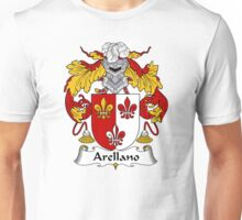 Arellano Coat of Arms/ Arellano Family Crest Unisex T-Shirt
