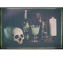 L'Absinthe C'est La Mort III Photographic Print