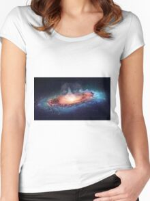 Grumpy Space Women's Fitted Scoop T-Shirt