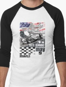 indy 500 Men's Baseball ¾ T-Shirt