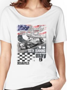 indy 500 Women's Relaxed Fit T-Shirt