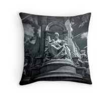Heavenly protection Throw pillow  and Tote Bag Throw Pillow