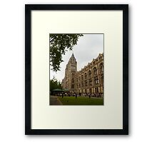 The Natural History Museum Building Framed Print