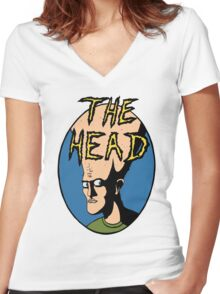 The Head Women's Fitted V-Neck T-Shirt