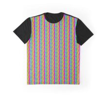 Colorful Modern Art Graphic T-Shirt