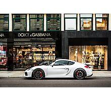 Porsche Cayman GT4  Photographic Print