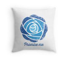 Promise Me Throw Pillow