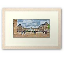The Louvre Museum in Paris Framed Print