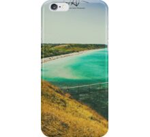 sunny day at the beach iPhone Case/Skin
