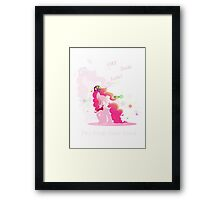 The Pink TimeLord Framed Print