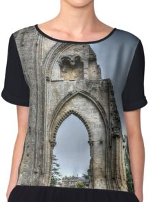 The Past Remains HDR Chiffon Top