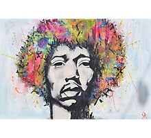 Afro Man Photographic Print