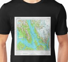USGS TOPO Map Alaska AK Juneau 360989 1962 250000 Unisex T-Shirt