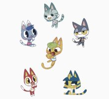 Animal Crossing - Cat Set 1 by JimHiro