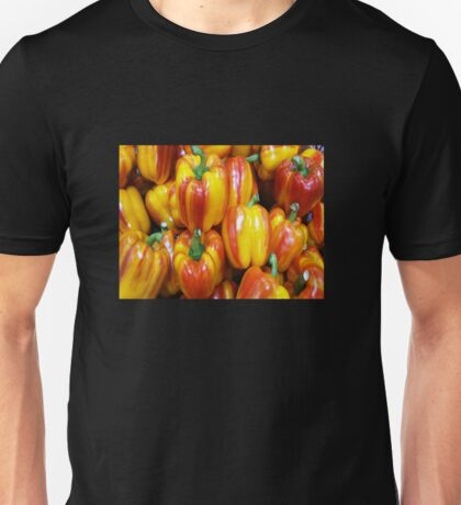 RED / YELLOW PEPPERS Unisex T-Shirt