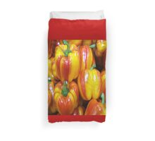RED / YELLOW PEPPERS Duvet Cover
