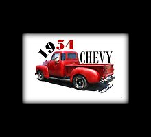 1954 Chevy iPad Case by Betty Northcutt