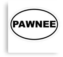 Pawnee Canvas Print