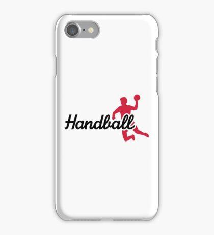 Handball sports iPhone Case/Skin