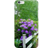 The Cottage Fence iPhone Case/Skin
