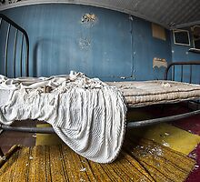 Maid's Quarters Bed, NY by Marissa Mancini