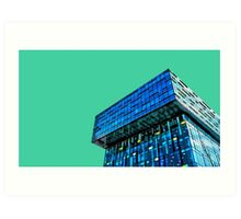 Cubist skyline, Southwark. Art Print