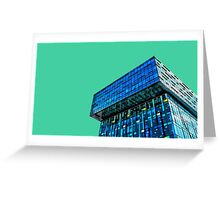 Cubist skyline, Southwark. Greeting Card