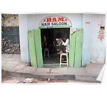 Ram Hair Saloon Poster