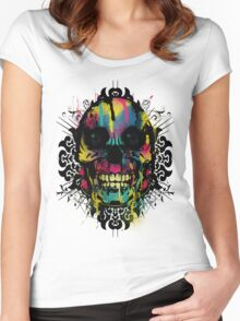 Better Colour Than Dead - Collaboration Women's Fitted Scoop T-Shirt