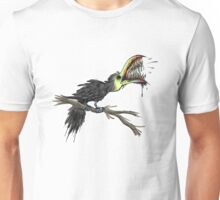 I couldn't think of any bird puns Unisex T-Shirt