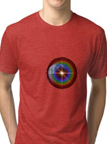 Lonely Star or Planet Earth? Tri-blend T-Shirt