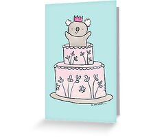 Koala Cake Greeting Card
