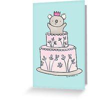 Koala Cake Greeting Card