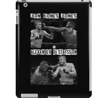 Jon Jones Vs Alexander Gustafsson iPad Case/Skin