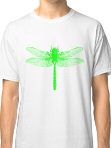 Dragonfly Green Classic T-Shirt