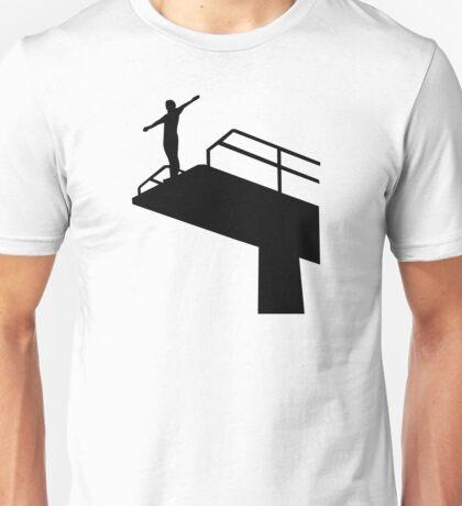 High diving Unisex T-Shirt