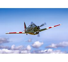 EFW D-3801 J-143 HB-RCF in flight Photographic Print