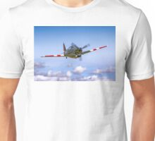 EFW D-3801 J-143 HB-RCF in flight Unisex T-Shirt