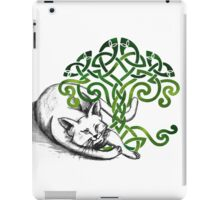 Celtic Cat iPad Case/Skin