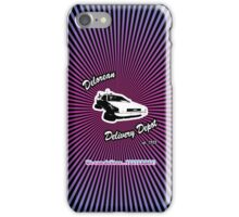 Delorean Delivery Depot iPhone Case/Skin