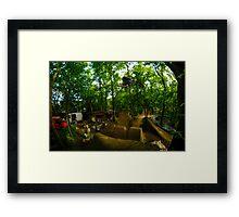 360 bmx  Framed Print