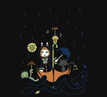 Friends and Rain by Lolita Tequila Kids Tee