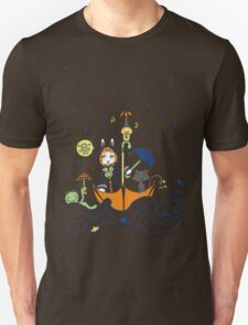 Friends and Rain by Lolita Tequila Unisex T-Shirt