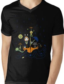Friends and Rain by Lolita Tequila Mens V-Neck T-Shirt