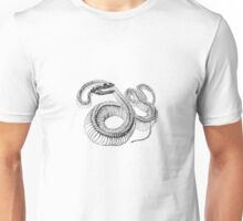 Snake Skeleton Unisex T-Shirt