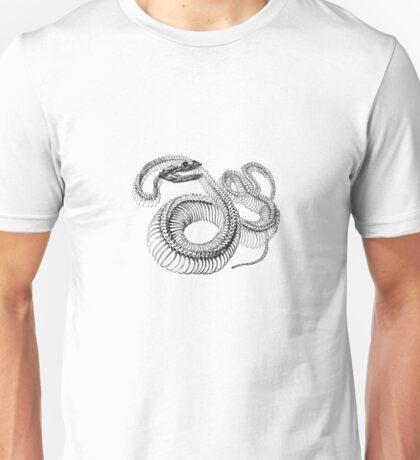 Snake Skeleton Unisex T-Shirt