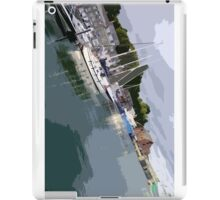Padstow Harbour iPad Case/Skin
