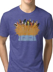 Bird nest head Tri-blend T-Shirt